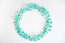 diy paper cut wreaths fall for diy