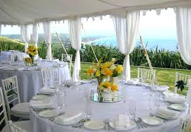 large size of ideas outstanding rustic wedding decorations round table white polyester tablecloth glass simple centerpieces