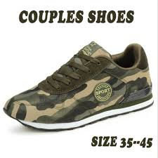 Unisex Couples Camouflage Shoes Mens Comfortable Tennis Shoes Casual Sneakers Sh
