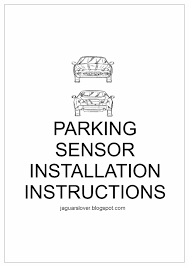 jaguar cars jaguar bumpers fitting parking sensors dear jaguar lovers we all must avoid scratching our modern jaguar bumpers by fitting parking sensors today bumpers are not one of the most solid parts of