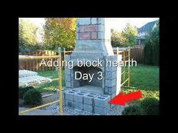 Firerock Fireplace Installation - Outdoor Fireplace - YouTube