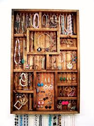 Bracelet Organizer Ideas Wall Hanging Jewelry Organizer Ideas Home Wall Ideas Amazing