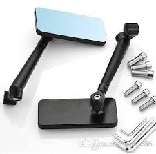 motorcycle mirrors sport rear view mirror black cnc side mirrors