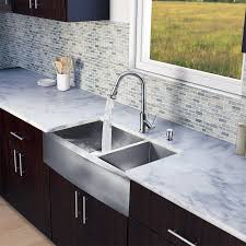 popular stainless steel farmhouse sink