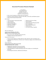 Example Resume Doc Examples Of Resumes