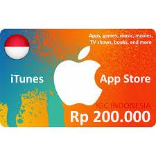 itunes gift card igc indonesia 200k aman resmi