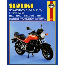 manual haynes for 1982 suzuki gsx 1000