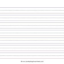 Elementary Lined Paper Template 10 Lined Paper Templates