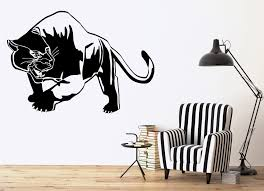 tiger panther wall stickers predator animal tribal decor vinyl decal inspiration of tiger wall decals