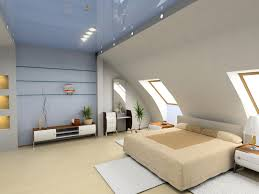 bedroom slanted walls decorating ideas