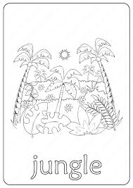 Feel free to print and color from the best 40+ jungle coloring pages at getcolorings.com. Printable Jungle Coloring Page Book Pdf
