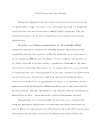 Example Of College Essays For Common App Example Of College Essays Under Fontanacountryinn Com