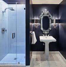 dark blue bathroom tiles. Delighful Tiles Navy Bathroom And Dark Blue Tiles O