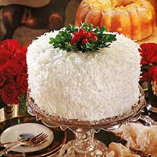 Christmas Coconut Cake Designs Happy Holidays