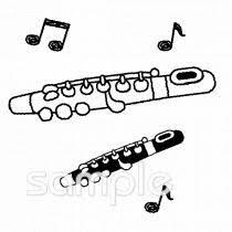 楽器 フルートイラストなら音楽小学校幼稚園向け保育園向けの