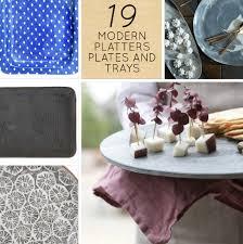 modern serving platters plates and trays – designsponge