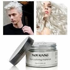 men women blue wax hair model pomade gel mud long lasting hairstyle ebay