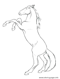 Free Horse Racing Coloring Pages Coloring Horse Pages Free Realistic
