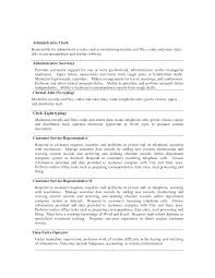 tasks administrative cvs administrator job description office clerical clerical tasks