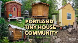 Small Picture This Tiny House Community is Located in Portland Oregon YouTube