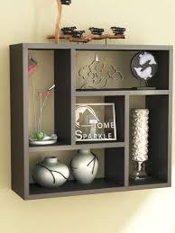 home sparkle square wall shelf