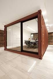 office conference room decorating ideas 1000. Container Office Design Our Melbourne Incorporates  Decommissioned Shipping Containers Into Its Meeting Rooms And Reception Office Conference Room Decorating Ideas 1000
