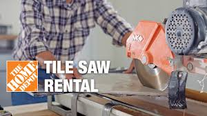 tile saw al the home depot