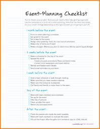 event planning questionnaire post project checklist checklists business templates evaluation plan