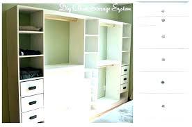 diy closet shelves mdf building custom shelving awesome build your inexpensive systems organizers do it yo