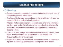 Estimating Project Time and Cost - ppt download