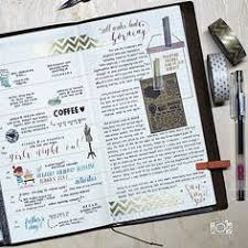 gorgeous midori travelers notebook pages ideas and inspiration for keeping a travel journal sketchbook