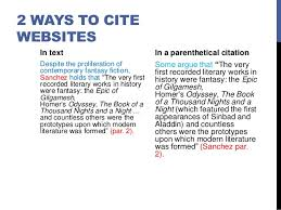 how to cite websites in essays citing internet sources center for teaching and learning