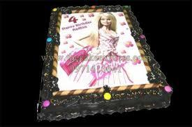 Send Barbie Doll Photo Cake To Gurugram Online Buy Barbie Doll