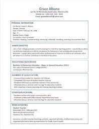 Perfect Sample Resume For Fresh Graduate Teacher Illustration