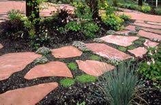 Image result for garden stone design ideas
