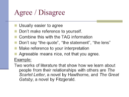 critical lens essays the scarlet letter ppt video online 12 agree disagree