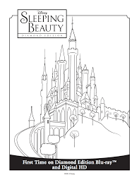 No defined logo for disney for several years. Princess Aurora S Castle Coloring Sheet Disney Coloring Pages Printables Castle Coloring Page Sleeping Beauty Coloring Pages
