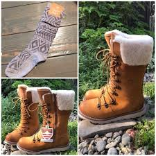 royal canadian louise waterproof leather boots