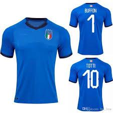 Italia Jersey El Fútbol Rossi De Custom Del Pirlo Insigne Shaarawy Marchisio Copa Camiseta Verratti Bonucci 2018 Zaza Mundo Buffon