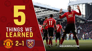 Stadium, arena & sports venue in london, united kingdom. Rice Passes Old Trafford Audition Five Things Learned From Man Utd 2 1 West Ham Squawka