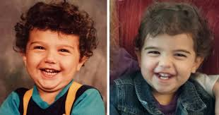 Generate Baby Picture From Parents 10 Side By Side Photos Of Parents And Their Kids At The Same Age