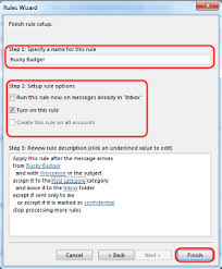 Create Outlook Message Template Office 365 Outlook 2013 Use Rules To Manage Your Email