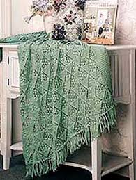Knitted Afghan Patterns Adorable Lacy Pyramid Knit Afghan Welcome To The Craft Yarn Council