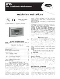 lennox thermostat manual wire a thermostat lennox heat pump camstat civa-5 at Camstat Wiring Diagram