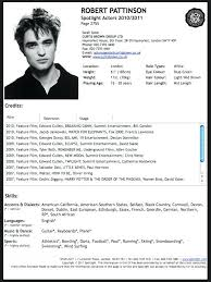 Acting Resume Template Download Actor Resume Template Word Acting Portfolio Maker Software