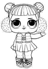 Coloring And Drawing Lol Surprise Queen Bee Coloring Pages