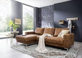 Ecksofa 235x150x90 Cognac London