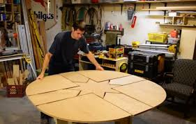 diy round dining table