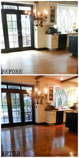sandless floor refinishing truly shocking wish we would have done this years ago redheadcandecorate