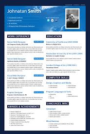best cv template top best resume format cv template 14 download formats com 3 2016 12